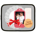 merry christmas - Netbook Case (XL)
