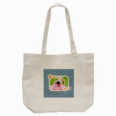 Merry Christmas By Joely   Tote Bag (cream)   0hriqy2v36nn   Www Artscow Com Front