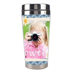 Merry Christmas By Joely   Stainless Steel Travel Tumbler   6rk07lczkco0   Www Artscow Com Center