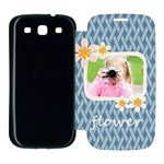 flower kids - Samsung Galaxy S3 Flip Cover Case