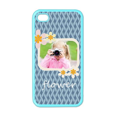 Flower Kids By Joely   Apple Iphone 4 Case (color)   2tgfih26pu4p   Www Artscow Com Front