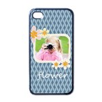 flower kids - Apple iPhone 4 Case (Black)