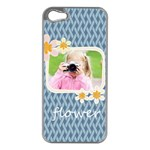 flower kids - Apple iPhone 5 Case (Silver)