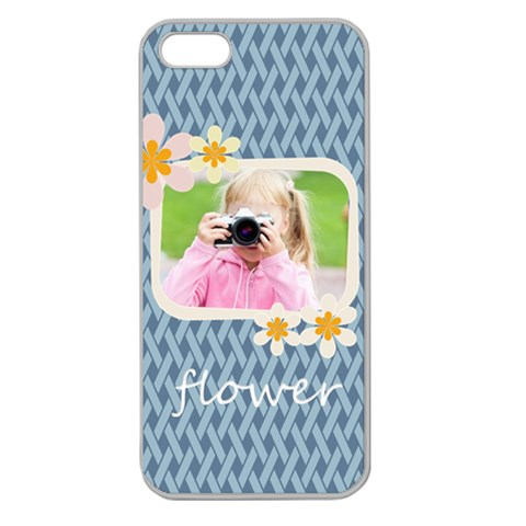 Flower Kids By Joely   Apple Seamless Iphone 5 Case (clear)   Rxjpmttdzvut   Www Artscow Com Front