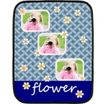 flower - Double Sided Fleece Blanket (Mini)