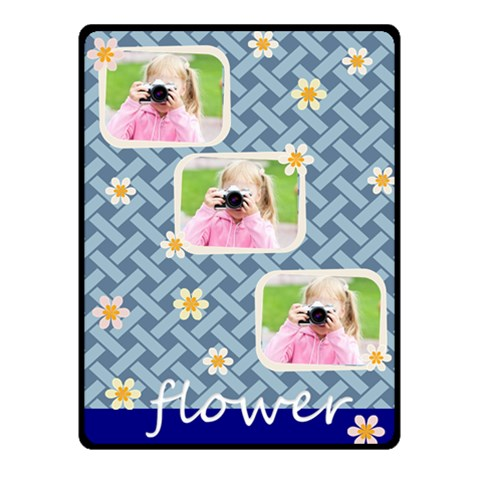 Flower By Joely   Fleece Blanket (small)   M5i4808msgv0   Www Artscow Com 50 x40 Blanket Front