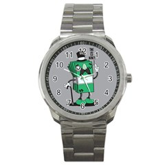 Don t waste your time... Sport Metal Watch by Contest1771648