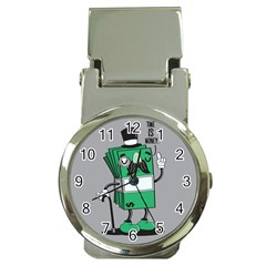 Don t waste your time... Money Clip with Watch by Contest1771648