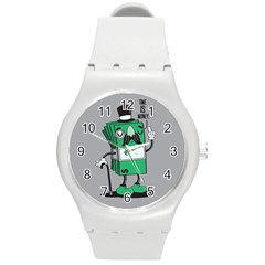 Don t Waste Your Time    Plastic Sport Watch (medium) by Contest1771648
