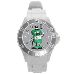 Don t Waste Your Time    Plastic Sport Watch (large) by Contest1771648