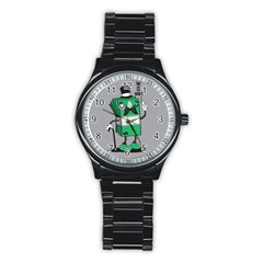 Don t Waste Your Time    Sport Metal Watch (black) by Contest1771648