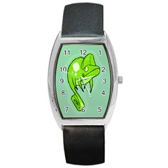 Lucky Lizard Tonneau Leather Watch by Contest1780262