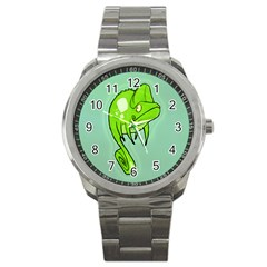 Lucky Lizard Sport Metal Watch by Contest1780262