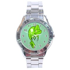 Lucky Lizard Stainless Steel Watch by Contest1780262