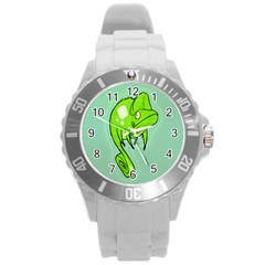Lucky Lizard Plastic Sport Watch (Large) by Contest1780262