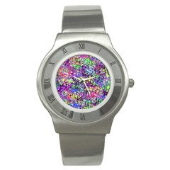 Fantasy Stainless Steel Watch (slim) by Siebenhuehner