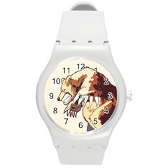 Bear Time Plastic Sport Watch (medium) by Contest1780262