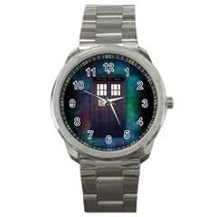 The Time Traveler Sport Metal Watch by Contest1748470