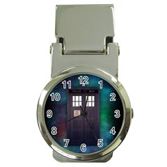 The Time Traveler Money Clip with Watch by Contest1748470