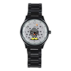Time Bomb Sport Metal Watch (black)