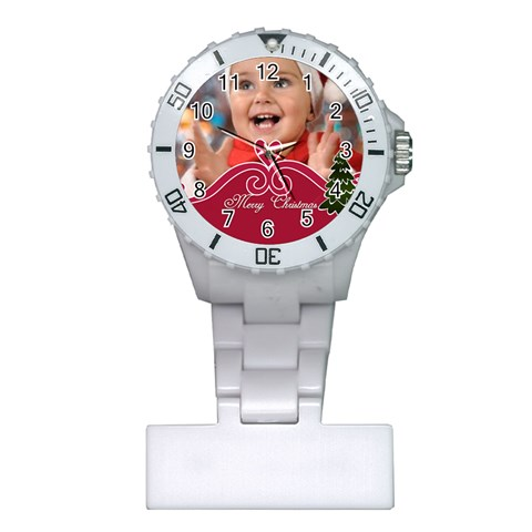 Merry Chriatmas By Man   Plastic Nurses Watch   Gpalspfdpz44   Www Artscow Com Front