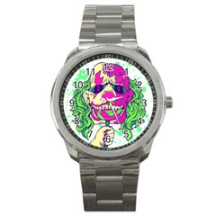 Bozo Zombie Sport Metal Watch by Contest1731890