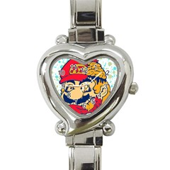 Mario Zombie Heart Italian Charm Watch  by Contest1731890