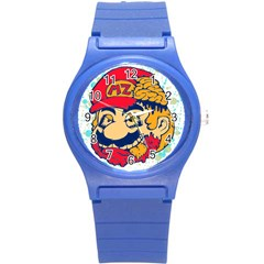 Mario Zombie Plastic Sport Watch (small) by Contest1731890