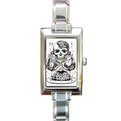 Delicious Rectangular Italian Charm Watch by Contest1731890