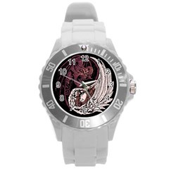 YinYang Plastic Sport Watch (Large) by DesignsbyReg2