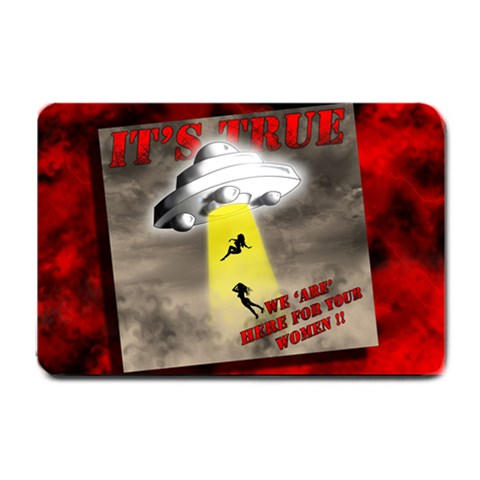 Ufo   Its True By Ralph   Small Doormat   Fn22zq7s9jiw   Www Artscow Com 24 x16 Door Mat - 1