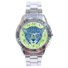 Cheetah Alarm Stainless Steel Watch by Contest1738807