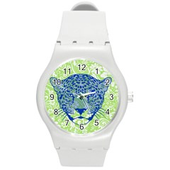 Cheetah Alarm Plastic Sport Watch (medium) by Contest1738807
