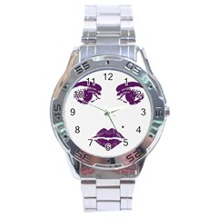 Beauty Time Stainless Steel Watch by Contest1704350