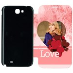 lov - Samsung Galaxy Note 2 Flip Cover Case