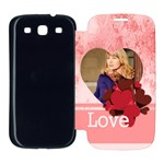 love - Samsung Galaxy S3 Flip Cover Case