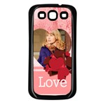 love - Samsung Galaxy S3 Back Case (Black)