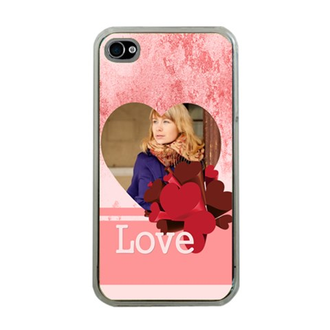 Love By Anita   Apple Iphone 4 Case (clear)   X9v04356eq5g   Www Artscow Com Front