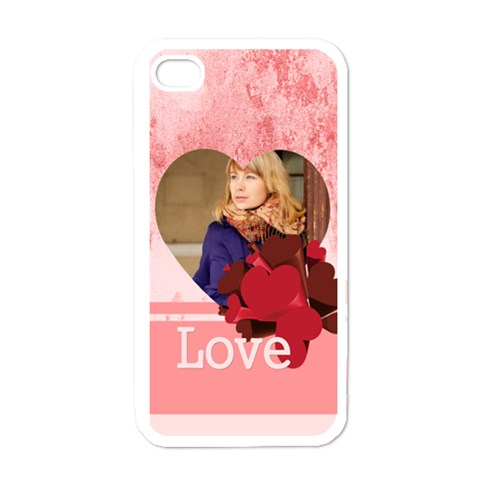 By Anita   Apple Iphone 4 Case (white)   L8n9vl0f443d   Www Artscow Com Front