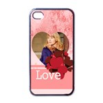 love - Apple iPhone 4 Case (Black)