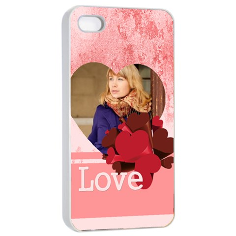 Love By Anita   Apple Iphone 4/4s Seamless Case (white)   8q934e7k2nbr   Www Artscow Com Front