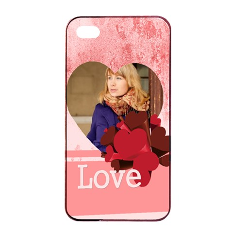 Love By Anita   Apple Iphone 4/4s Seamless Case (black)   Fex64n7er7au   Www Artscow Com Front