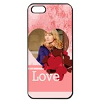 love - Apple iPhone 5 Seamless Case (Black)