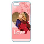 love - Apple Seamless iPhone 5 Case (Color)