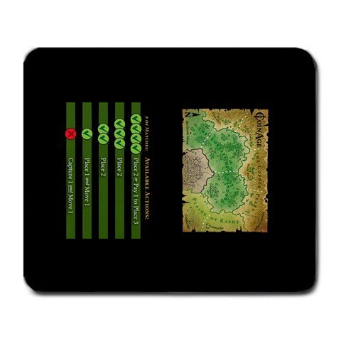 Coin Age Play Mat (9 25  X 7 75 ) By Chris Schreiber   Large Mousepad   Wuqnafddz996   Www Artscow Com Front
