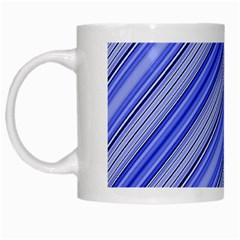 Lines White Coffee Mug by Siebenhuehner