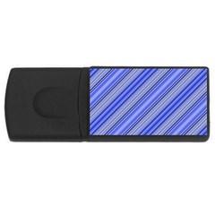 Lines 4gb Usb Flash Drive (rectangle) by Siebenhuehner