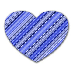 Lines Mouse Pad (heart) by Siebenhuehner