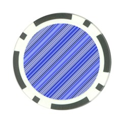 Lines Poker Chip by Siebenhuehner