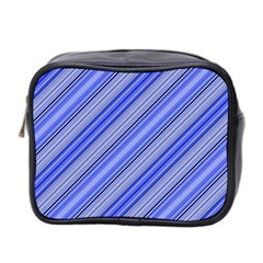 Lines Mini Travel Toiletry Bag (two Sides) by Siebenhuehner